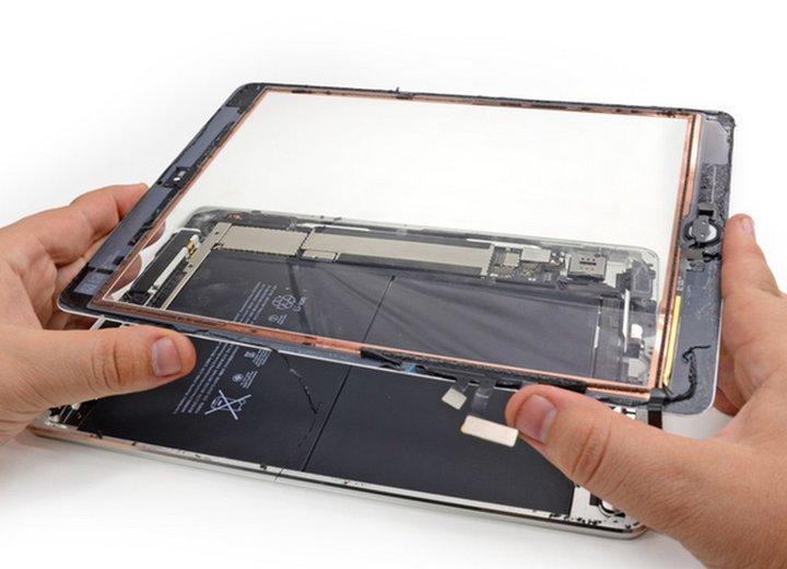Как самому заменить стекло на ipad